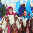 Girls of the people Nenets — Stock Photo #42412415