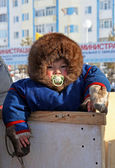 Little aboriginal of Siberia — Stock Photo