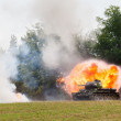 tanque t-34 — Foto Stock