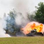 tank t-34 — Stockfoto
