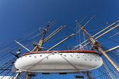Museum ship in Gdynia — Stock Photo