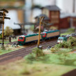 Rail transport modelling — Foto Stock