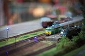 Rail transport modelling — Stock Photo