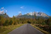 Las montañas tatra. — Foto de Stock