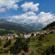 Stock Photo: Village in the European Alps