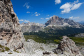 European Alps - Dolomites, Italy. — Stock Photo