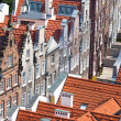 Stock Photo: Old town buildings in centre of Gdansk Poland