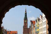 The Main Town Hall - Gdansk, Poland. — Stock Photo