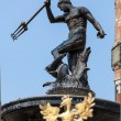 Famous Neptune fountain at Dlugi Targ square in Gdansk, Poland. — ストック写真