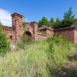 Prussian fortress ruins in Gdansk. — Stock Photo