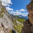 Dolomites mountain in summer — Stock Photo