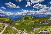 Dolomity hory v létě — Stock fotografie