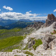 Summer mountain landscape - Dolomites, Italy — Stock Photo
