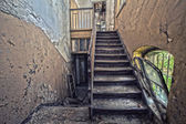 Forgotten century-old mansion. Gdansk - Poland. — Stock Photo