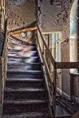 Vergessen die jahrhunderte alten herrenhaus. danzig - polen. — Stockfoto