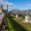 Historic bridges in Tczew - Poland — Stock Photo #32173663