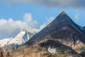 Grossglockner in clouds, National Park Hohe Tauern, Austria — Stock Photo