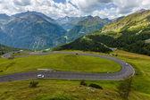オーストリアのアルプスの山道 — ストック写真