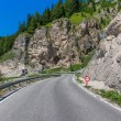 Mountain road in Dolomites, Italy — Stock Photo