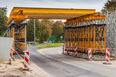 Construction du viaduc ferroviaire — Photo
