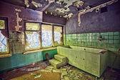 Abandoned sanatorium - Orlowo Gdynia, Poland — Stock Photo
