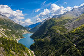 Beautiful mountain views - Maltatal, Austria. — Foto Stock