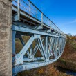 Old truss railway bridge — Stock Photo #33905769