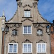 Stock Photo: Historical tenement house - Gdansk, Poland