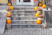Urban Decor for Halloween — Stock Photo