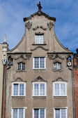 Historical tenement house - Gdansk, Poland — Stock Photo
