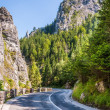 Curved road in the mountains — Stock Photo #34964797