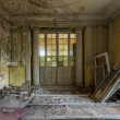 Stock Photo: Beautiful, forgotten and destroyed house