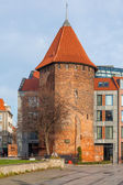 The historic bastion in Gdansk, Poland — Stock Photo
