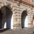 Gdansk, Poland - Historic  The Green Gate — Stock Photo
