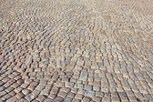 The historic, cobbled road - Gdansk, Poland — Stock Photo