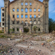 The ruins of the factory — Stock Photo