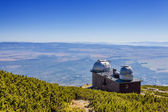 The astronomical observatory and weather station — Stock Photo