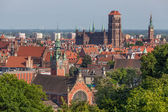 View of the Old Town in Gdansk, Poland — Stock Photo