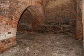 Bir ortaçağ kalesi yeraltı — Stok fotoğraf