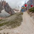 National Park of Dolomites — Stock Photo