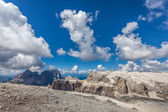 Mountain peaks in the Dolomites - Italy — Photo