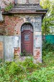 Forgotten century-old mansion. Gdansk - Poland. — ストック写真