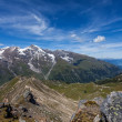 Alps in the summer - mountain landscape — Stock Photo