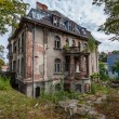 Forgotten century-old mansion. Gdansk - Poland. — Stock Photo