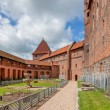 Castle of Teutonic Order in Malbork — Stock Photo #36991867