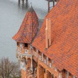 Castle of Teutonic Order in Malbork — Stock Photo #36991895