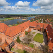 Castle of Teutonic Order in Malbork — Stock Photo #36991901
