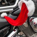Motorcycle of Santa Claus. — Stock Photo #37318983