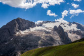Dolomiti - summer view of mount Marmolada, Trentino, Italy — Stock Photo