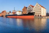 "Historic ship - museum - ""Soldek"" — ストック写真"
